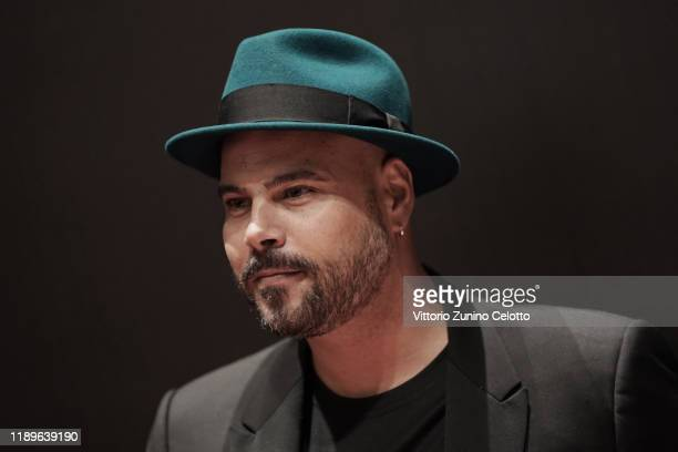 Marco D'Amore attends the Vanity Fair Stories 2019 Awards Photocall at The Space Cinema Odeon on November 23, 2019 in Milan, Italy.