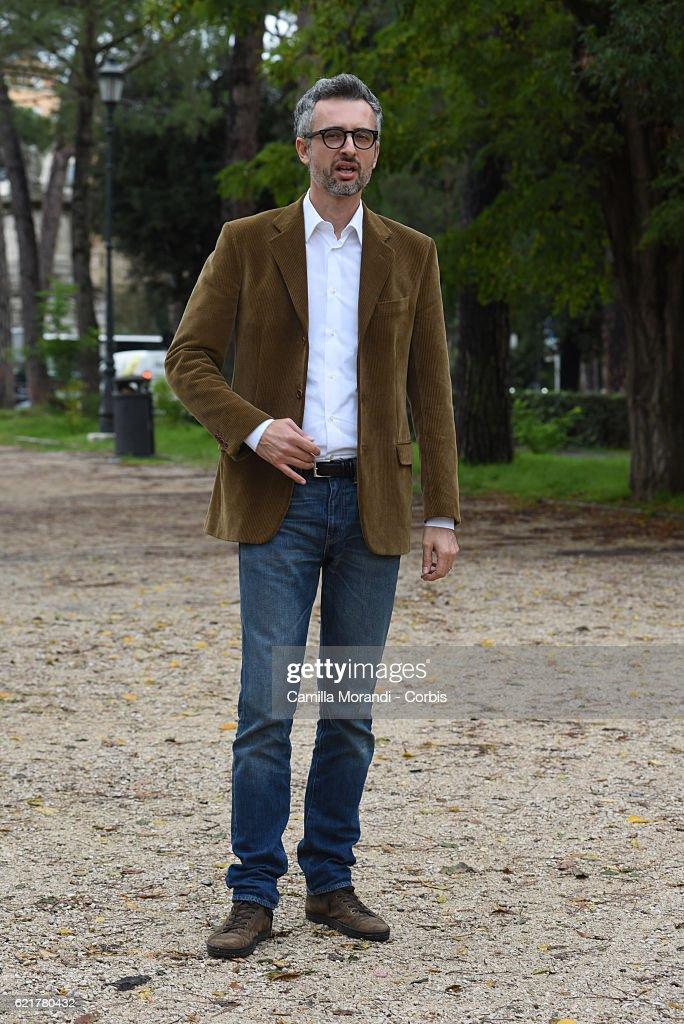 Marco Danieli attends a photocall for 'La Ragazza Del Mondo' on November 8, 2016 in Rome, Italy.