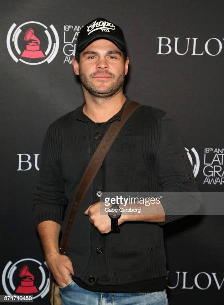 Marco de la O attends the gift lounge during the 18th annual Latin Grammy Awards at MGM Grand Garden Arena on November 15 2017 in Las Vegas Nevada