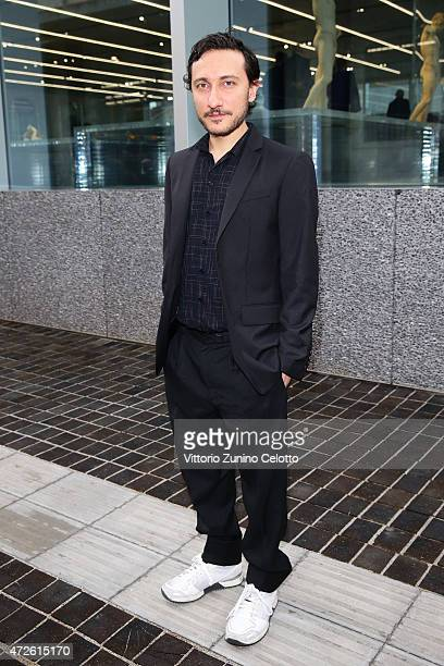 Marco de Vincenzo attends the Fondazione Prada Opening on May 8 2015 in Milan Italy