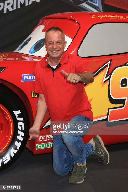 Marco Della Noce attends Cars 3 photocall in Milan on September 11 2017 in Milan Italy