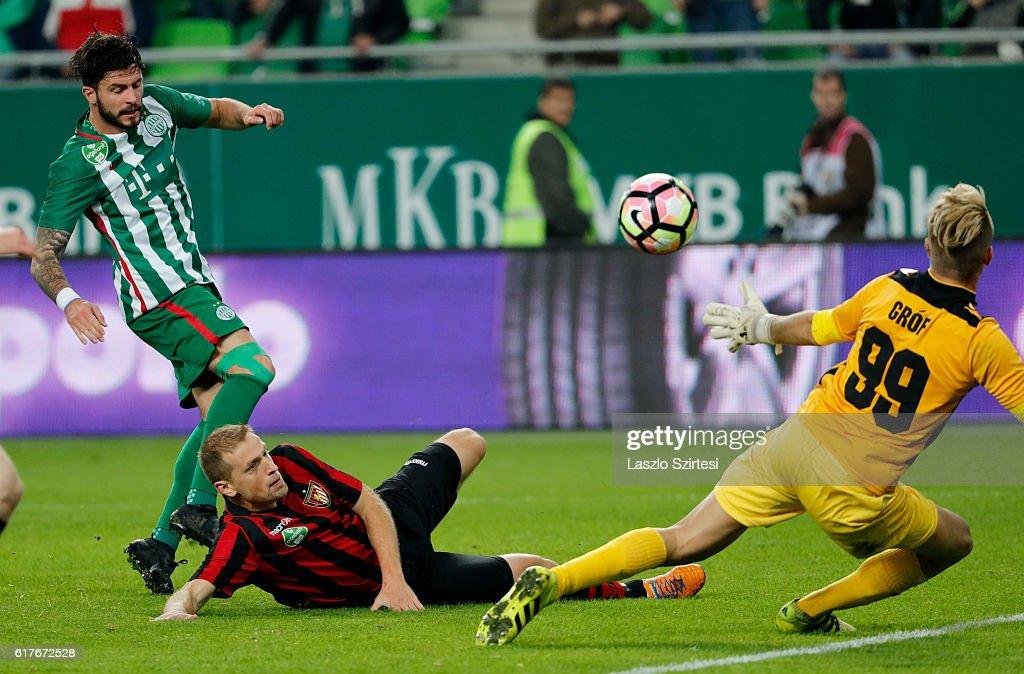 Ferencvarosi TC v Budapest Honved - Hungarian OTP Bank Liga : News Photo