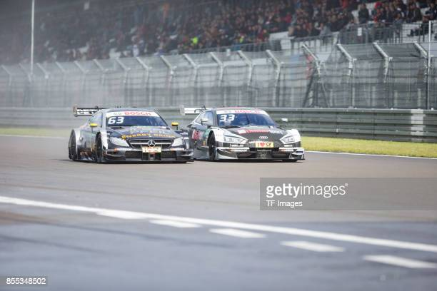 Marco Engl überholt Rene Rast Audi drives during the Qualifying race of the DTM 2017 German Touring Car Championship at Nuerburgring on Septembmber 9...