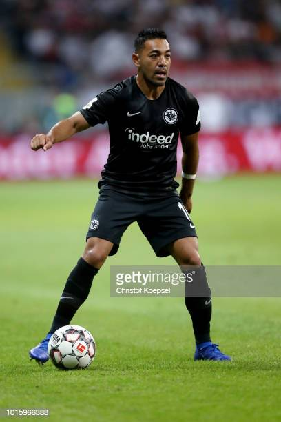 Marco Fabian of Frankfurt runs with the ball during the DFL Supercup match between Eintracht Frankfurt an Bayern Muenchen at CommerzbankArena on...