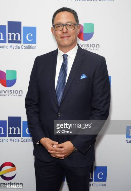 Marco Flores attends the NHMC's 17th Annual Los Angeles Impact Awards luncheon at Hilton Universal City on August 22 2019 in Universal City California
