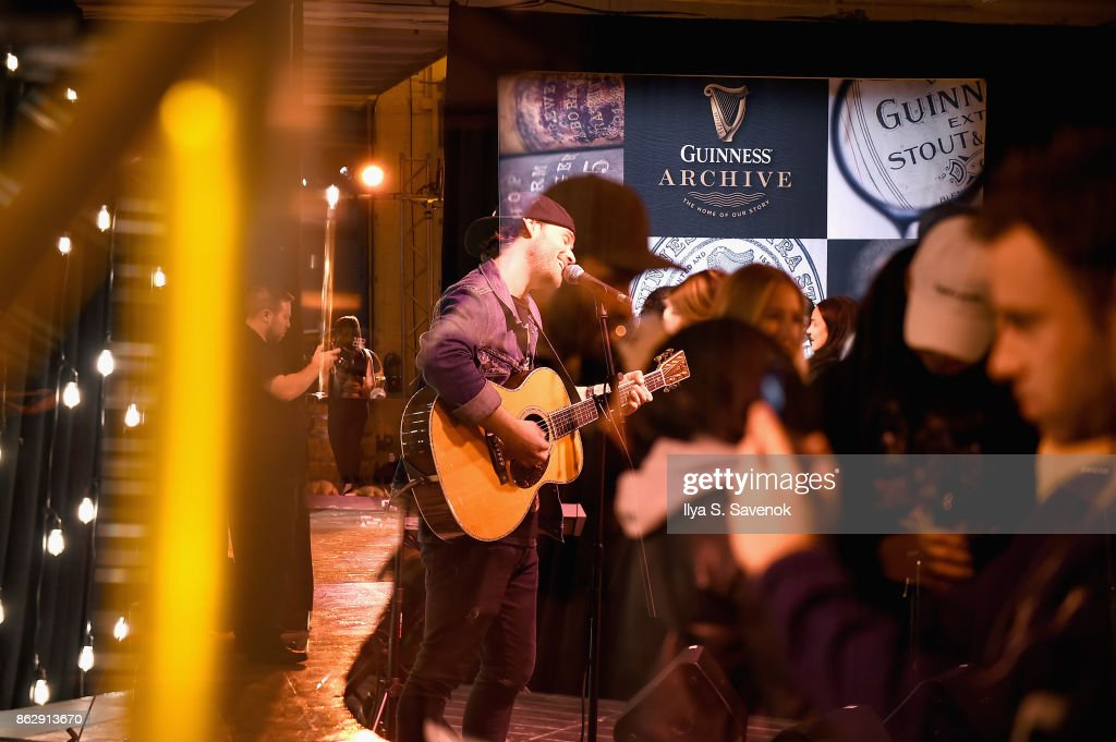 Marco Foster Performs Onstage As Guinness Celebrates 200 Years Since Being  Exported To America At The