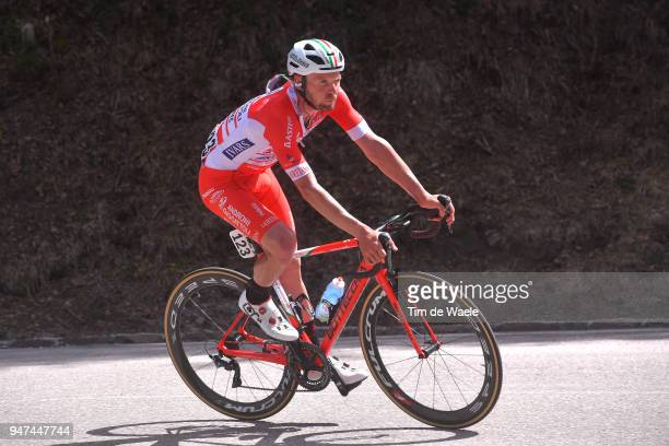Marco Frapporti of Italy and Team Androni Sidermec Bottecchia / during the 42nd Tour of the Alps 2018, Stage 2 a 145,5km stage from Lavarone to Alpe...
