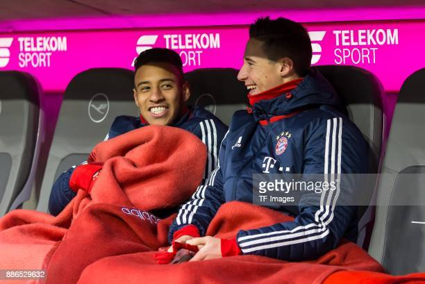 Marco Friedl of Bayern Muenchen looks on during the Bundesliga match between FC Bayern Muenchen and Hannover 96 at Allianz Arena on December 2 2017...