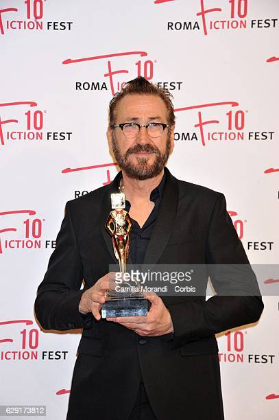 Marco Giallini attends a red carpet for the Fiction Fest Award on December 11 2016 in Rome Italy