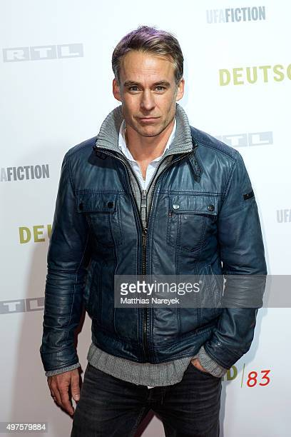 Marco Girnth attends the 'Deutschland 83' premiere at Babylon on November 17 2015 in Berlin Germany