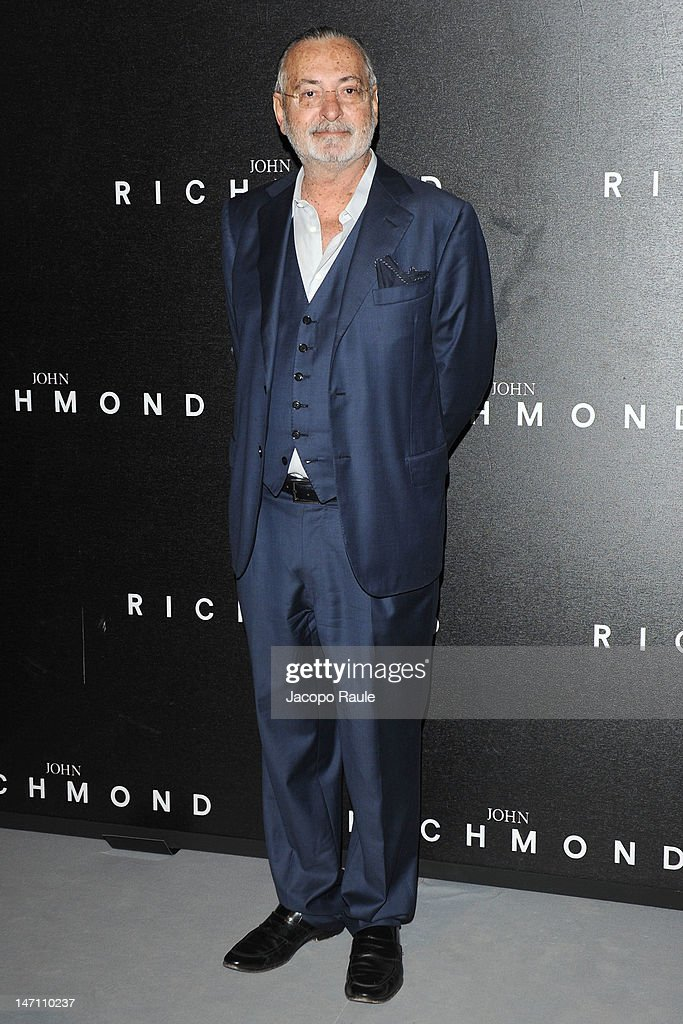 Marco Glaviano arrives at the John Richmond show as part of Milan Fashion Week Menswear Spring/Summer 2013 on June 25, 2012 in Milan, Italy.