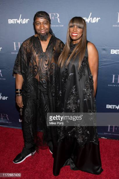 Marco Hall and Mikki Taylor attend Harlem Fashion Row at One World Trade Center on September 05, 2019 in New York City.