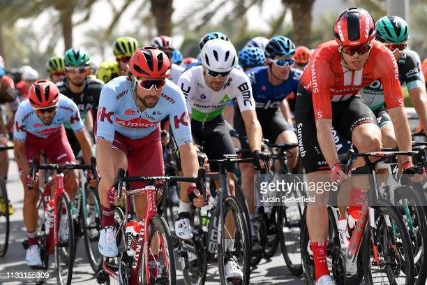 Marco Haller of Austria and Team KatushaAlpecin / during the 5th UAE Tour 2019 Stage 7 a 145km stage from Dubai Safari Park to Dubai City Walk /...