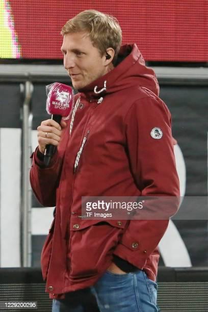 Marco Hartmann of SG Dynamo Dresden looks on during the 3 Liga match between Dynamo Dresden and FSV Zwickau at RudolfHarbigStadion on October 20 2020...