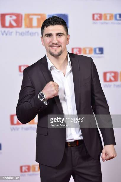 Marco Huck attends the RTL Telethon 2017 on November 23 2017 in Huerth Germany