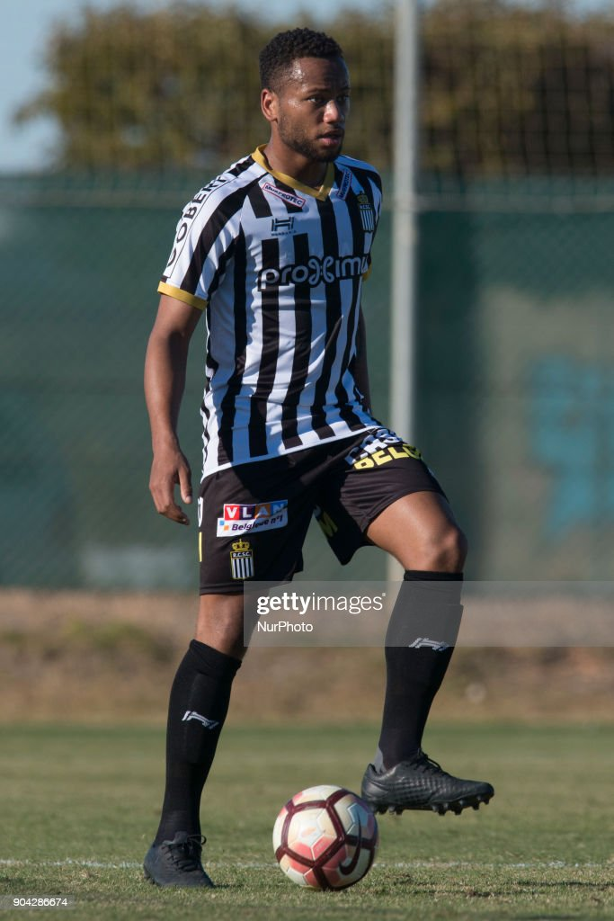 Marco Ilaimaharitra during the friendly match between Royal Charleroi SC vs.Yanbian Funde FC at Pinatar Arena, Murcia, SPAIN. 10th January of 2018.