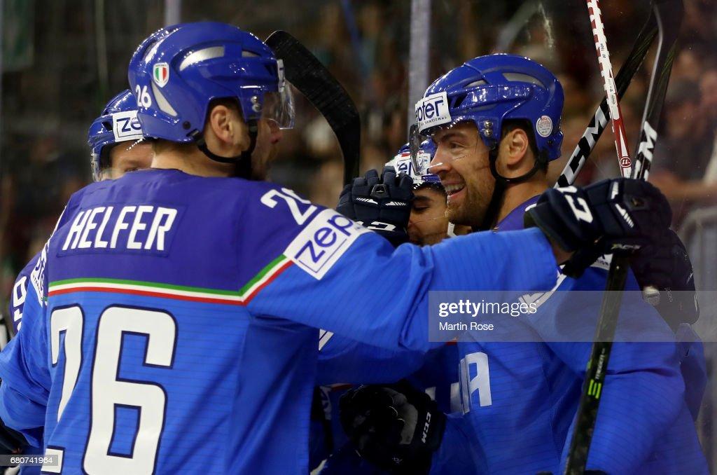 Italy v Latvia - 2017 IIHF Ice Hockey World Championship Photos and ...