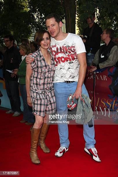 Marco Kreuzpaintner And Anna Thalbach at the Premiere Of Broken Embraces in the movie In The Culture brewery in Berlin