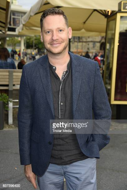 Marco Kreuzpaintner attends the premiere of 'Jugend ohne Gott' at Zoo Palast on August 22 2017 in Berlin Germany
