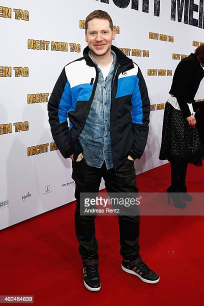 Marco Kreuzpaintner attends the premiere of the film 'Nicht mein Tag' at CineStar on January 13 2014 in Berlin Germany