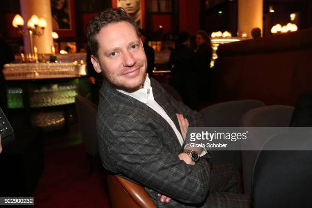 Marco Kreuzpaintner during the BUNTE BMW Festival Night 2018 on the occasion of the 68th Berlinale International Film Festival Berlin at Restaurant...
