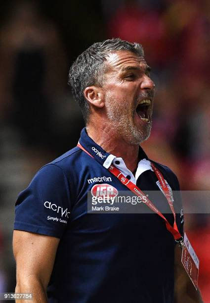 Marco Kurz coach of Adelaide United during the round 19 ALeague match between Adelaide United and the Perth Glory at Coopers Stadium on February 3...