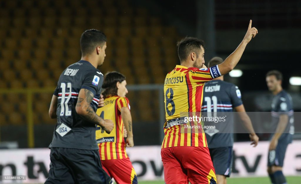 US Lecce v UC Sampdoria - Serie A : News Photo
