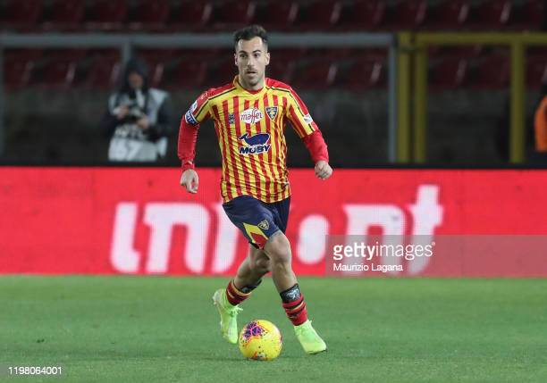 Marco Mancosu of Lecce during the Serie A match between US Lecce and Udinese Calcio at Stadio Via del Mare on January 5, 2020 in Lecce, Italy.