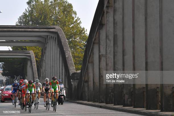 Marco Marcato of Italy and Uae Team Emirates / Franck Bonnamour of France and Team Fortuneo - Samsic / Florian Senechal of France and Team Quick-Step...