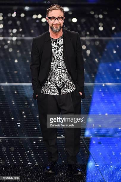 Marco Masini attends the thirth night of 65th Festival di Sanremo 2015 at Teatro Ariston on February 12 2015 in Sanremo Italy