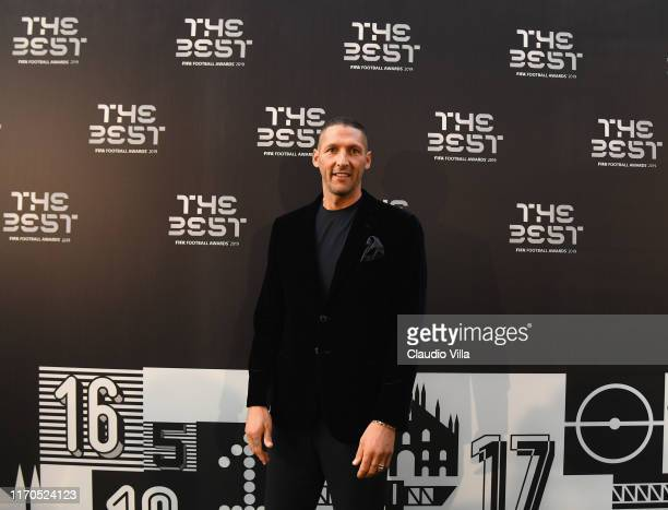 Marco Materazzi attends The Best FIFA Football Awards 2019 at the Teatro Alla Scala on September 23, 2019 in Milan, Italy.