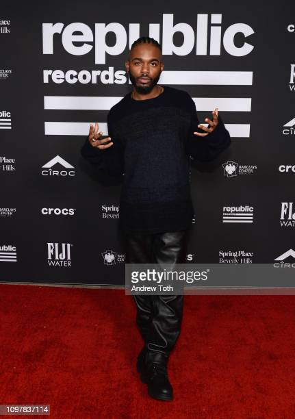 Marco McKinnis attends Republic Records Grammy after party at Spring Place Beverly Hills on February 10 2019 in Beverly Hills California