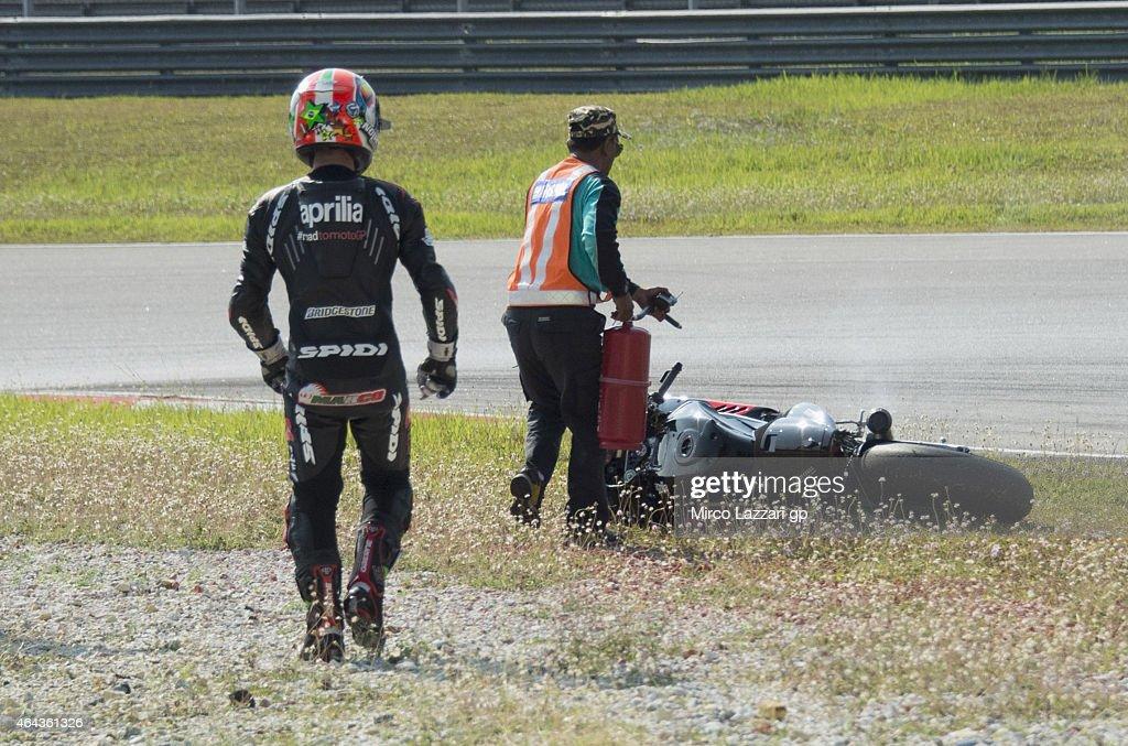 MotoGP Tests in Sepang - Day Three : News Photo