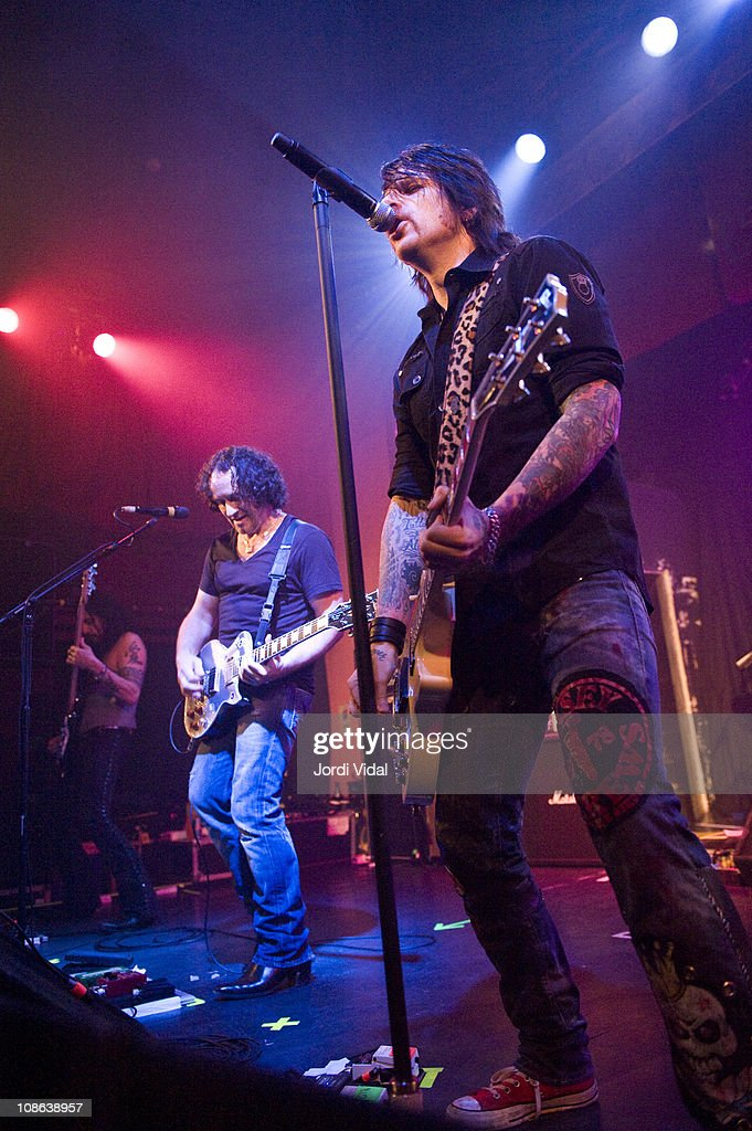 Thin Lizzy And Supersuckers Perform In Barcelona : News Photo