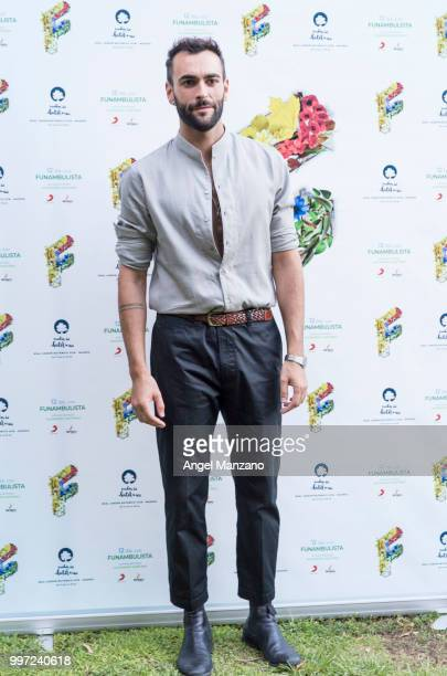 Marco Mengoni attends photocall in Funambulista concert at Noches del Bótanico Festival on July 12 2018 in Madrid Spain