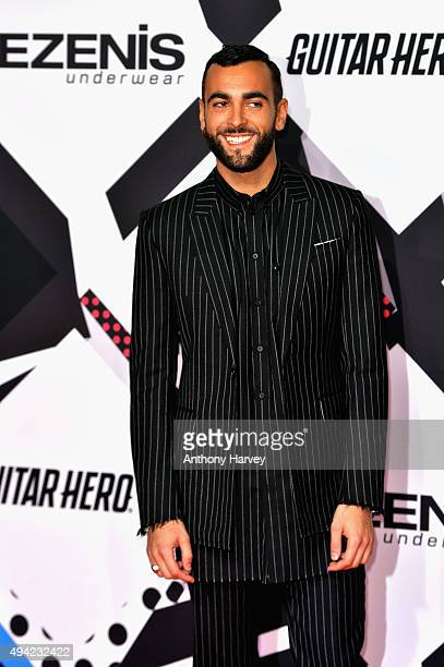 Marco Mengoni attends the MTV EMA's 2015 at the Mediolanum Forum on October 25, 2015 in Milan, Italy.