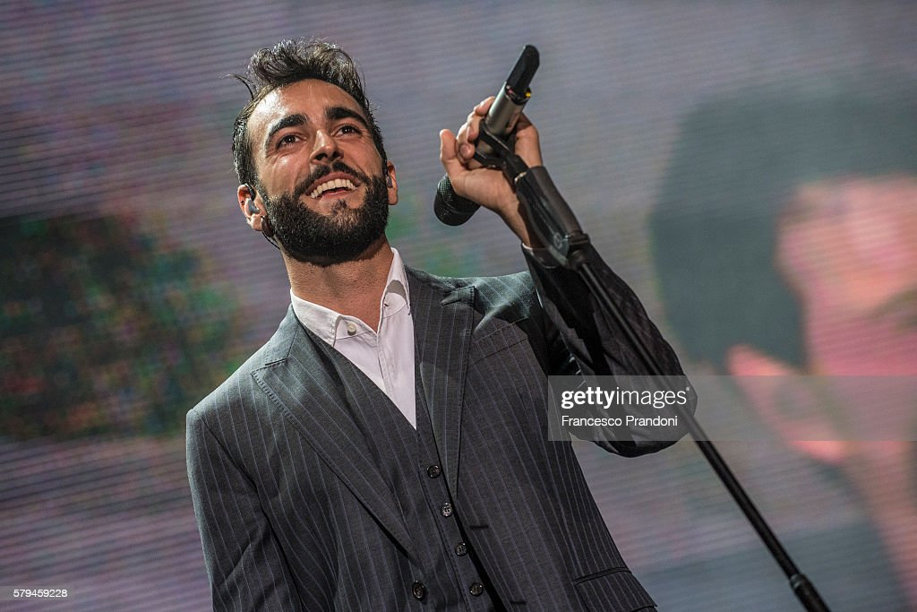 Marco Mengoni Performs At Lucca Summer Fest