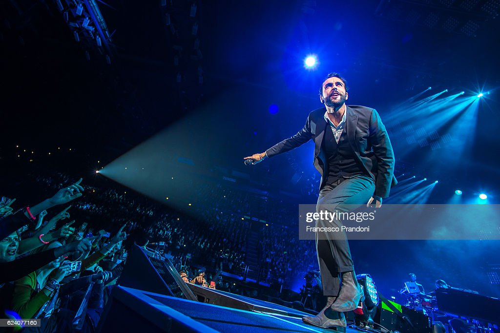 Marco Mengoni Performs In Milan