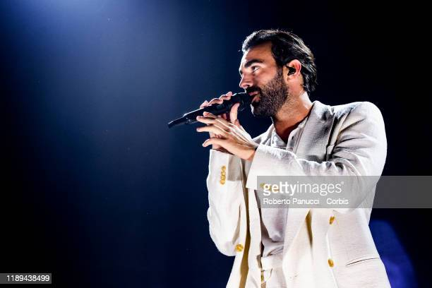 Marco Mengoni performs at Palalottomatica on November 22, 2019 in Rome, Italy.