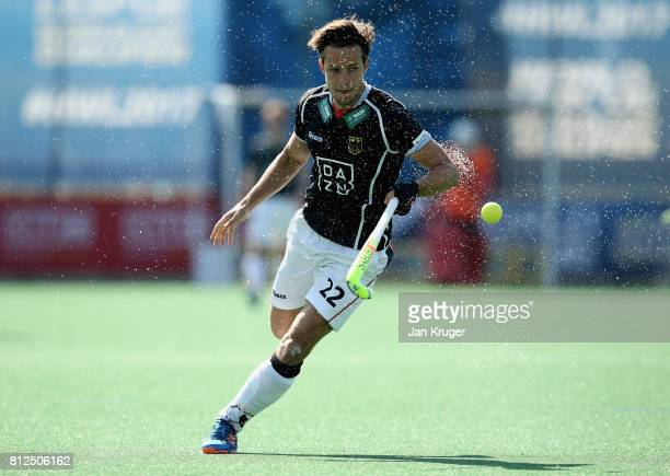 Marco Miltkau of Germany in action during day 2 of the FIH Hockey World League Semi Finals Pool B match between Germany and Egypt at Wits University...