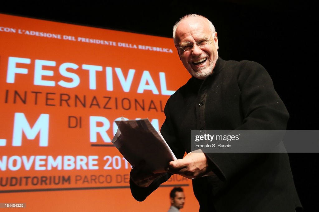 Marco Muller attends the 2013 Rome Film Festival press conference at Auditorium Parco Della Musica on October 14, 2013 in Rome, Italy.