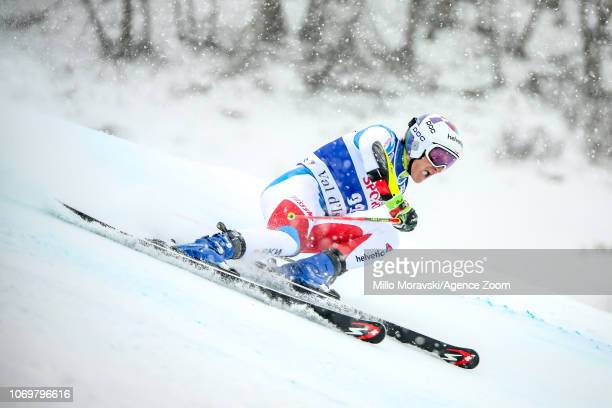 Marco Odermatt of Switzerland during the Audi FIS Alpine Ski World Cup Men's Giant Slalom on December 8 2018 in Val d'Isère France