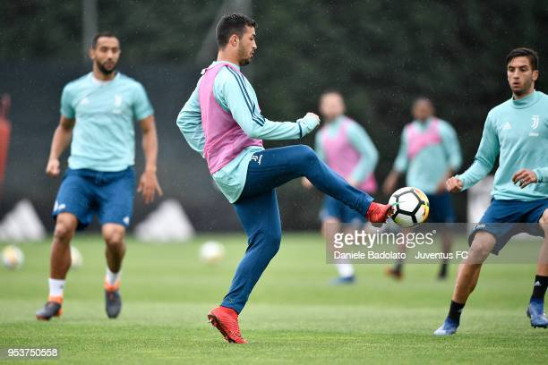 Marco Olivieri during the Juventus training session at Juventus Center Vinovo on May 2 2018 in Vinovo Italy