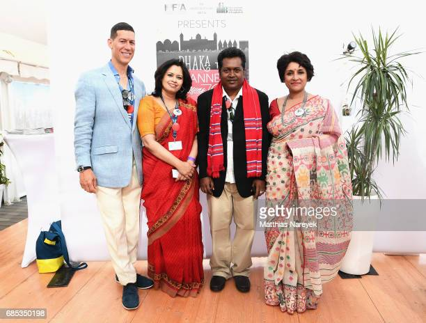 Marco Orsini guests and Samia Zaman attends From Dhaka to Cannes A Celebration of Talent hosted by the International Emerging Film Talent Association...