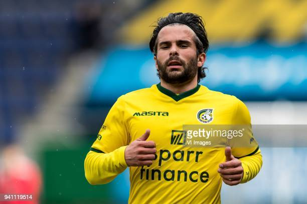 Marco Ospitalieri of Fortuna Sittard during the Jupiler League match between Fortuna Sittard and Helmond Sport at the Fortuna Sittard Stadium on...