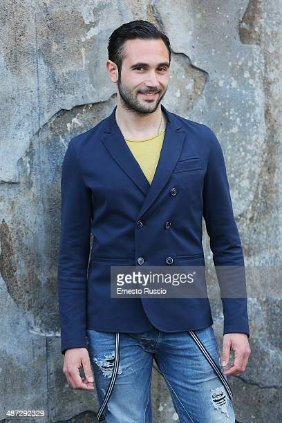 Marco Palvetti attends the 'Gomorra - La Serie' photocall at The Space Cinema Moderno on April 29, 2014 in Rome, Italy.
