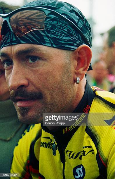 Marco Pantani, Vuelta Ciclista a Murcia 2002, Murcia - Fortuna, 6 March 2002. Photo made at the start of the first stage.