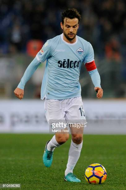 Marco Parlo of SS Lazio in action during the Serie A match between SS Lazio and Udinese Calcio on January 24 2018 in Rome Italy