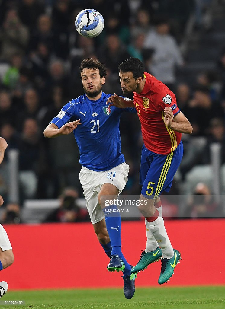 Italy v Spain - FIFA 2018 World Cup Qualifier : News Photo