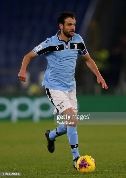 Marco Parolo of SS Lazio in action during the Coppa Italia match between SS Lazio and US Cremonese at Olimpico Stadium on January 14 2020 in Rome...
